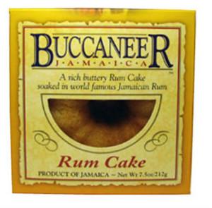Buccaneer Jamaica Rum Cake -7.5oz