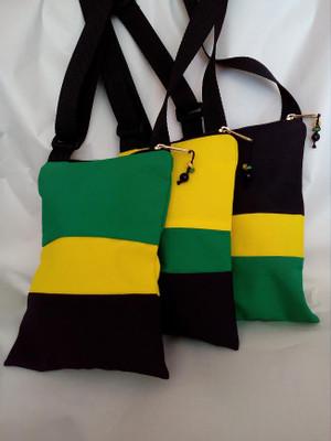 Ikatan JA colour shoulder bags