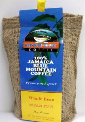 Riddim Blue 8oz Bean coffee