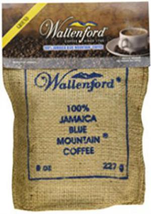 8oz Jute Bag Jamaica Blue Mountain coffee  Roasted and Ground