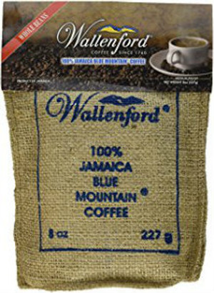 8oz Jute Bag Jamaca Blue Mountain Coffee  WB