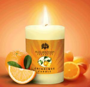 Ortanique  Pillar candle (15oz)
