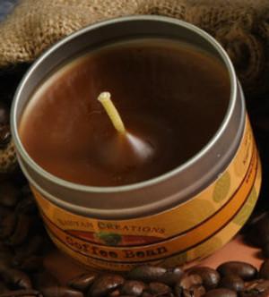 Coffee Bean travel tin