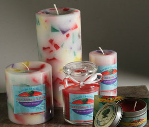 Reggae Vibes Scented Candle Set