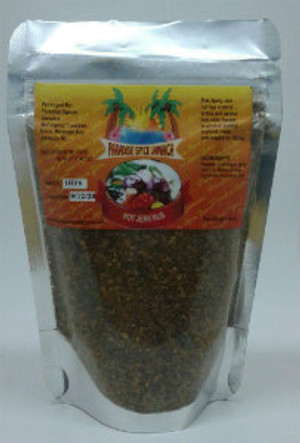 Paradise Spice Hot Jerk Rub Pouch