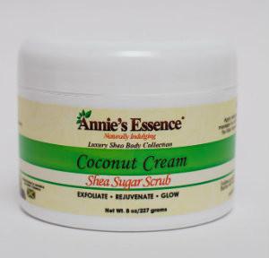 Annie's Coconut cream body scrub 8oz