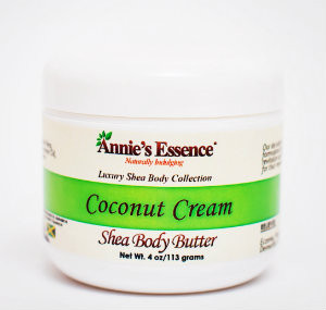 Annie's Coconut cream body butter 4oz