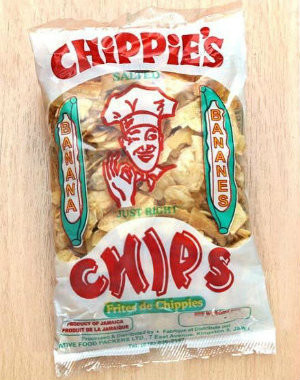 chippies banana chips Pk of 6