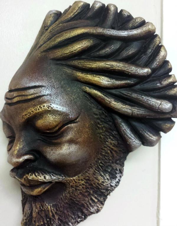 Lrg Rasta head Mask