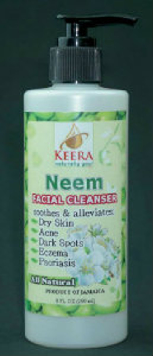 8oz Keera Neem Facial Cleanser