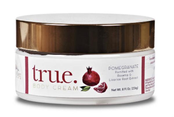TRUE Pomegranate Body Cream 8 oz