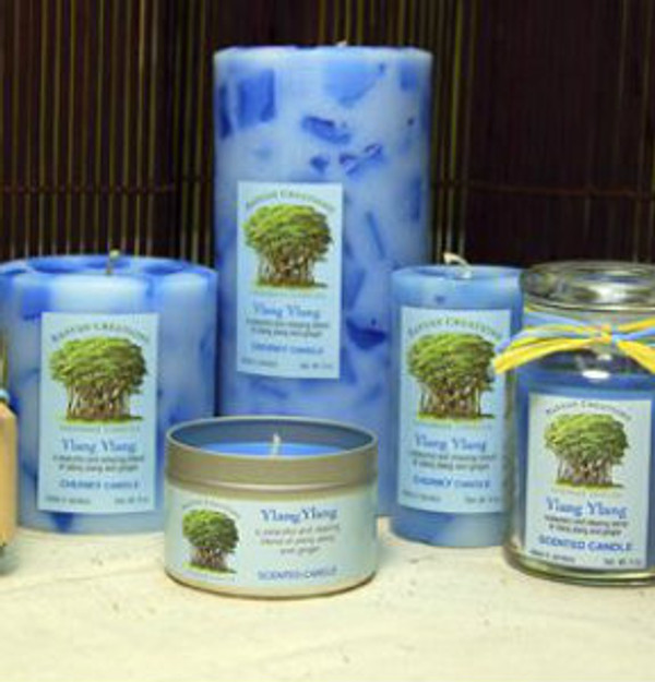 Ylang Ylang Scented Candle Set