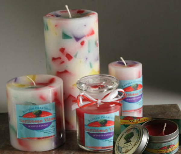 Reggae Vibes Scented Candle Set (B)