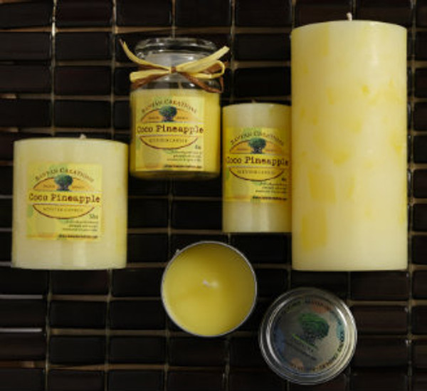 Coco Pineapple Candle Set