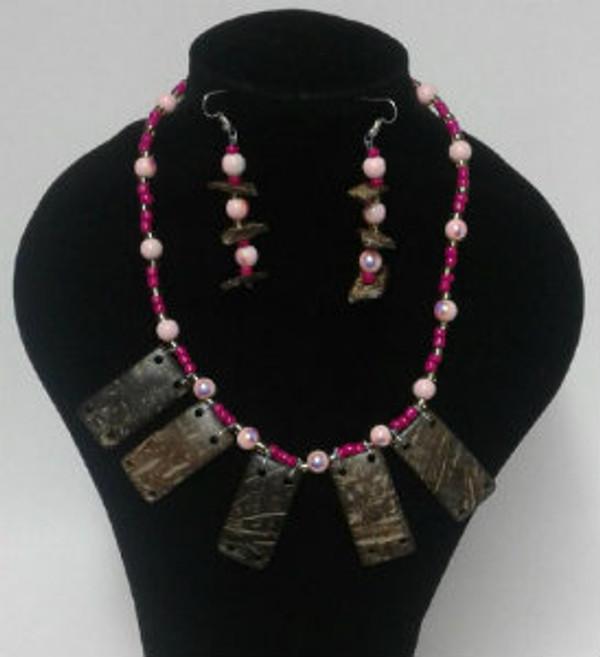 Coconut Necklace set