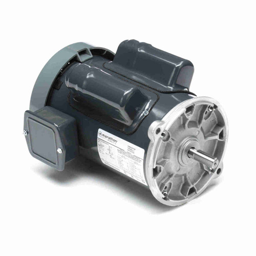 Auger Drive Single Phase Motor 1-1/2 HP C1295
