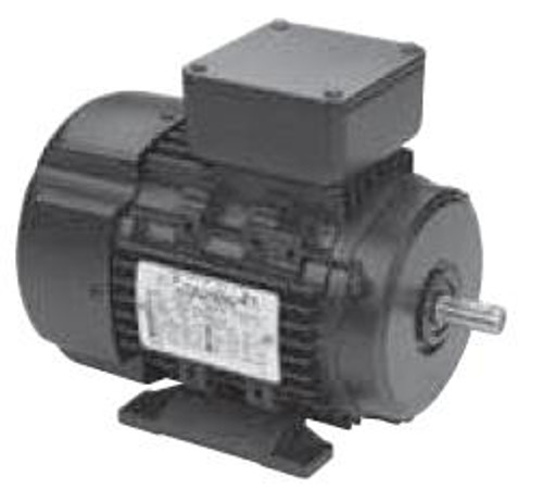 R306 Metric Frame Three Phase Motor - 1/2 HP