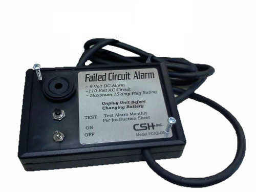 FCA2-05-220 (220 Volt version, no plug included) Failed Circuit Alarm, Power failure detection with t