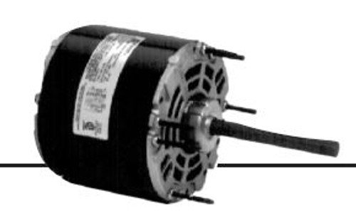 1124 Direct Drive Fan Single and Double Shaft 1/5HP