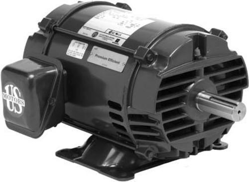 DH25S2GF 3 Phase ODP Dry Hydraulic Elevator Motor 25 HP