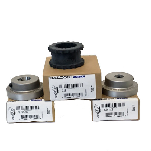 3J8-10 1/2 inch to 5/8 inch motor coupling assembly