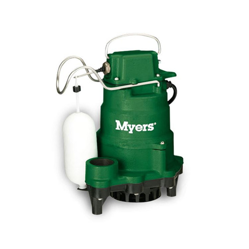 Myers MCI033 Cast Iron Sump Pump 1/3 HP