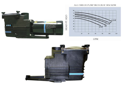 AT10DF AT Series 1 HP Full rated In-Ground Pool Pump