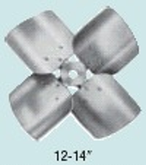 4C1219CW Four Wing Condenser Fan blade