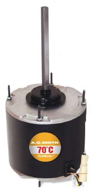 1/6 hp 1075 RPM, 1-Speed, 208-230V, 70°C Condenser Motor Century