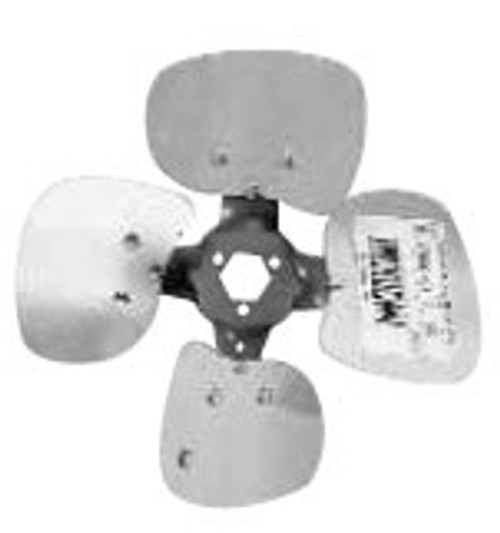 4C1027CW Four Wing Interchangeable Hub Condenser  Fan Bla