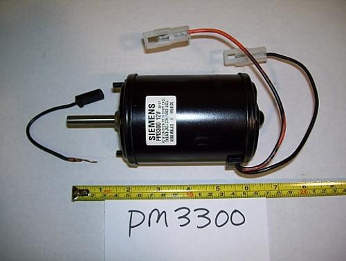 PM3300 3 Diameter DC Blower Motor