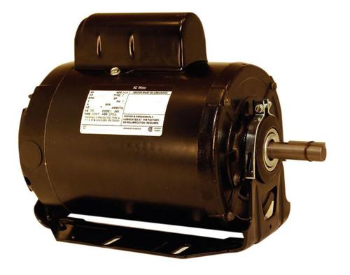 3/4 HP 1725 RPM 56 Frame 115/208-230V 50/60 hz Belt Drive Cap Start Blower Motor Century # RS1070AV1