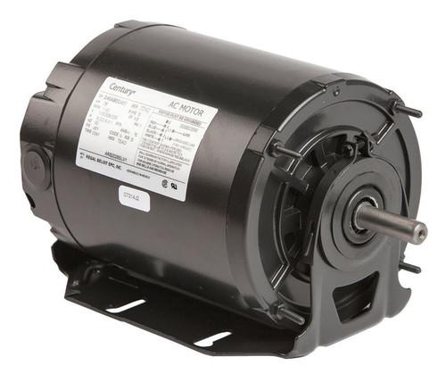 1/4 HP 1140 RPM 48Y Frame 115-208/230V Belt Drive TEAO Blower Motor Ball Brgs Century # ARB2026SV1