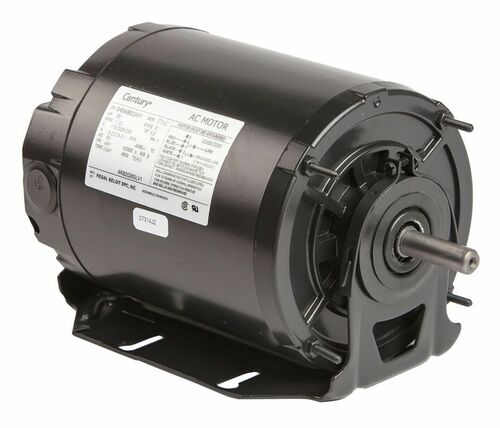1/4 HP 1140 RPM 48Y Frame 115-208/230V Belt Drive TEAO Blower Motor Ball Brgs Century # ARB2026SLV1