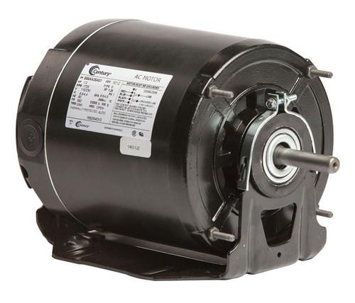 1/2 HP 1725 RPM 56Z Frame 115/230V Belt Drive Blower Motor Ball Brg Century # RB2054DV3