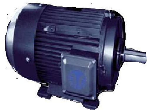 AL14T143TC TEFC Aluminum Motor with C-Face 1 HP 1800 RPM