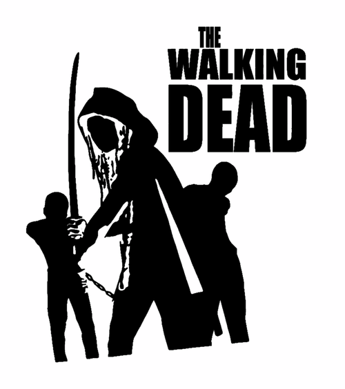 Free Comic Book Day Logo: Zombie The Walking Dead Comic Book Logo