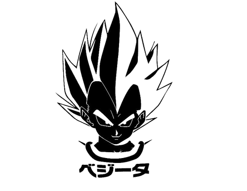 Vinyl Decals Anime Dragon Ball Z Page 1 Black