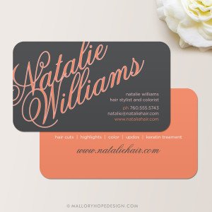 Elegant Name Business Card