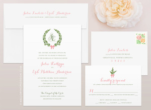 Olive Branch Wedding Invitation