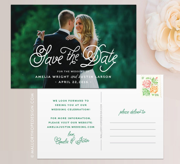 Fairy Tale Photo Save the Date