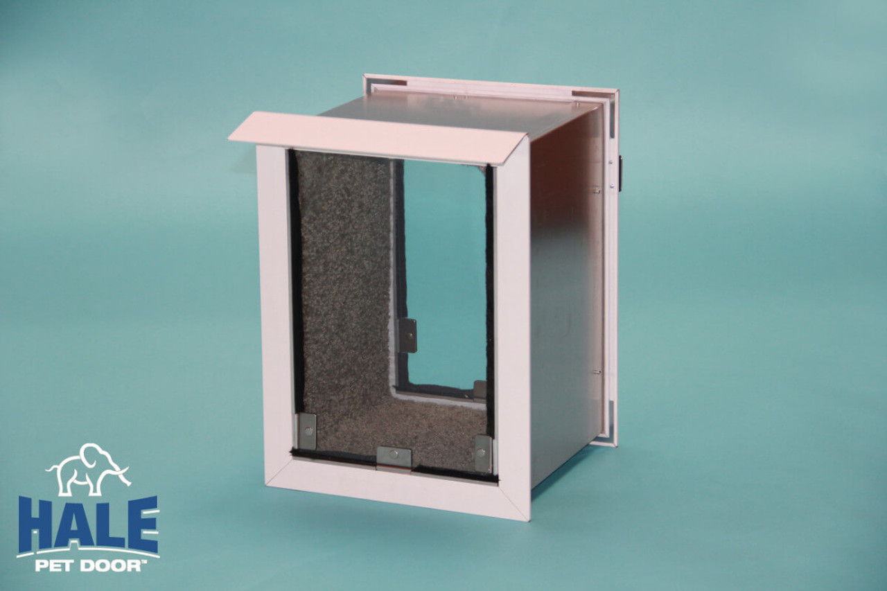 Hale Pet Doors for walls are weather tight doggy doors
