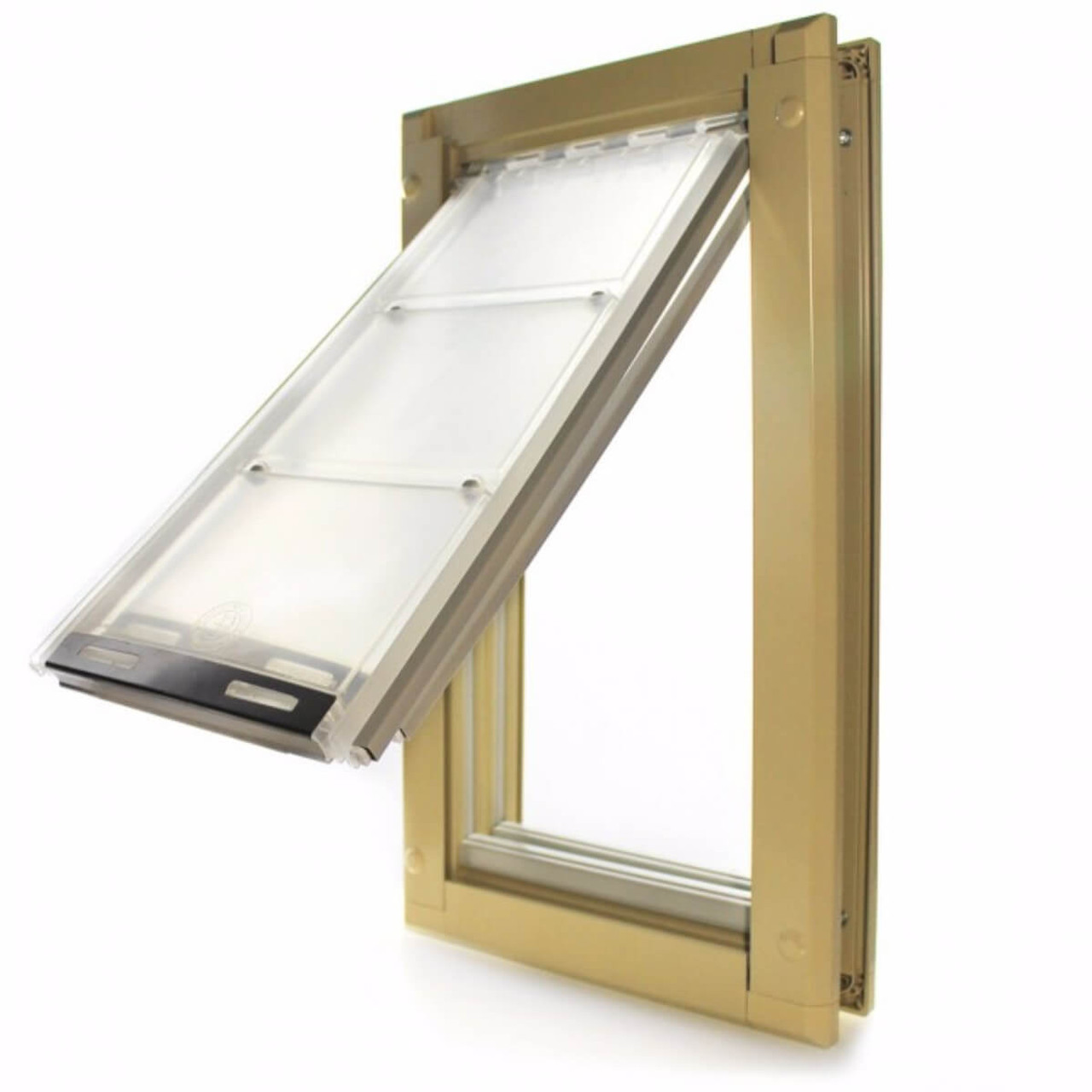 Endura Flap pet doors with double flaps are extremely weather tight and can be used in any climate even extreme hot and cold