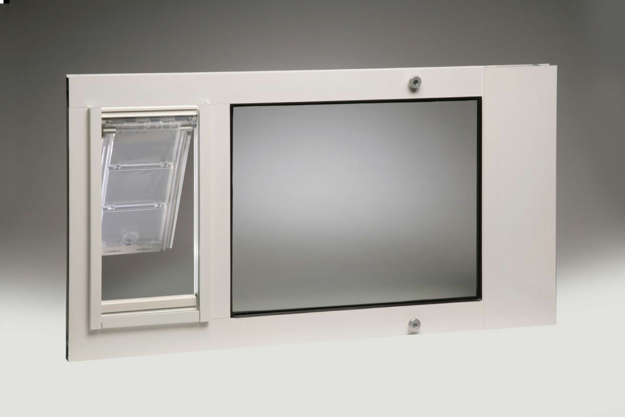 Thermo Sash 3e Window Mounted Cat Doors Have Dual Pane Low E Glass And  Feature The