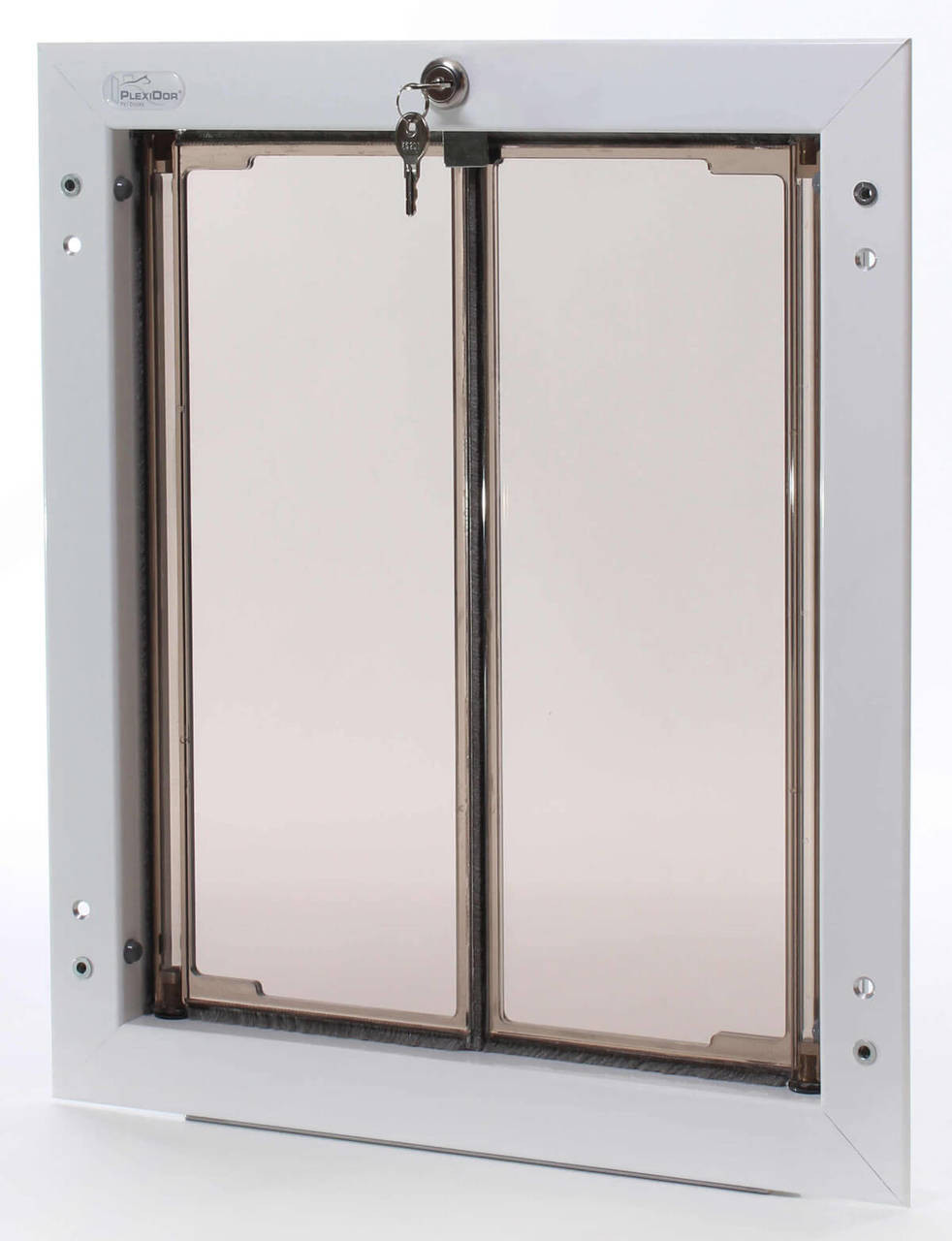 PlexiDor Wall large dog doors will fit labs and shepherds standard poodles setters and Vislas to about 100 pounds
