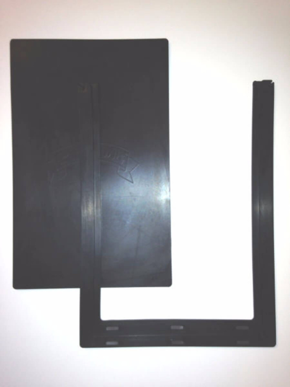 Merveilleux Pride Pet Door Flaps Have A Center Flap And An Outer U Shaped Flap And Are