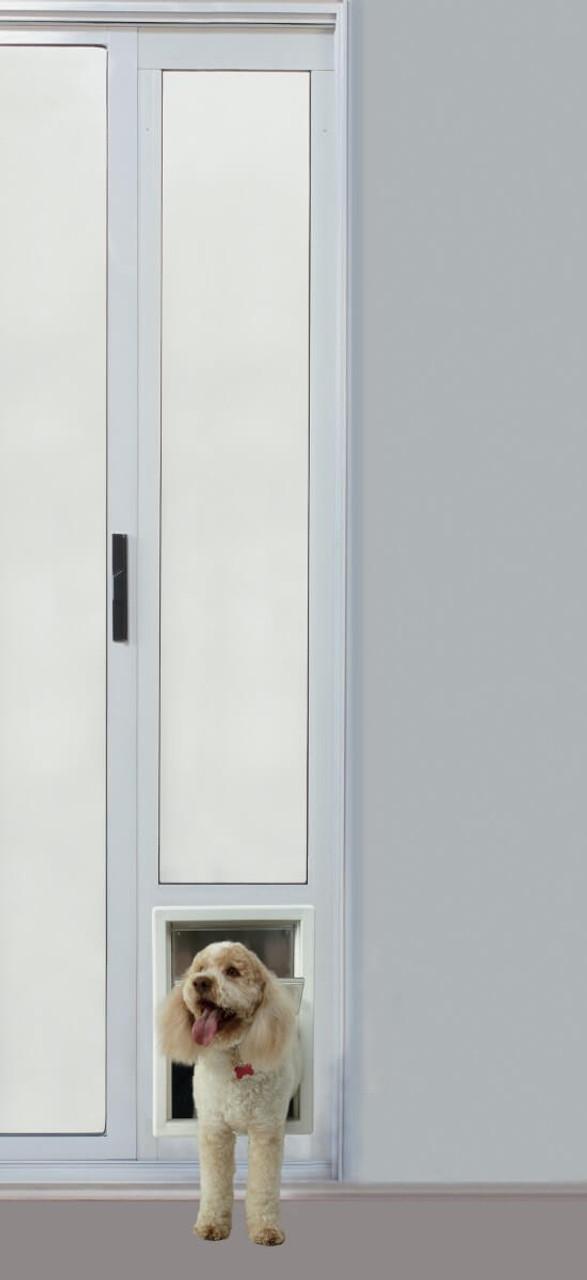 Ideal Fast Fit Panel Sliding Glass Dog Door Pet Door Store