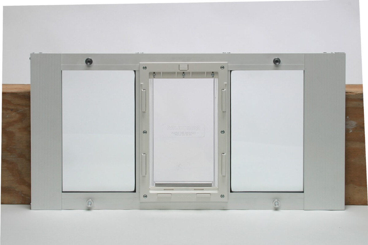 Ideal Fast Sash Window Pet Doors Are Spring Loaded For Easy Installation  And Come In Small