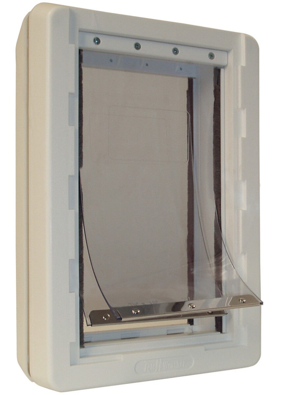 Ideal Ruff Weather doggy doors use vinyl flaps that will occasionally need replacing this image shows  sc 1 st  The Pet Door Store & Replacement Flap Ideal Ruff Weather | Pet Door Store