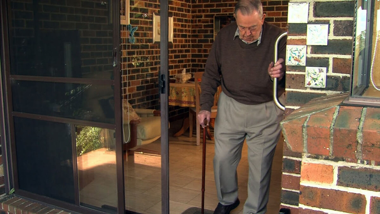 Autoslide sliding glass door openers are great for arthritic people who have difficulty opening doors or who have mobility issues